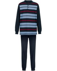 Roger Kent Pyjama - Blauw