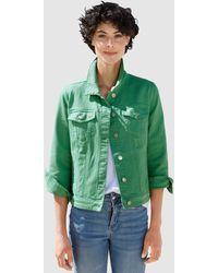Dress In Spijkerjasje - Groen