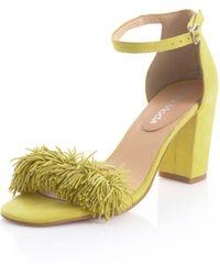 Alba Moda Sandaaltje - Geel
