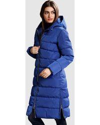 Alba Moda Gewatteerde Jas - Blauw