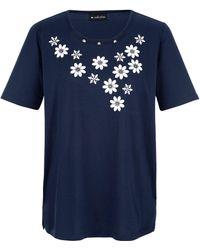 m. collection Shirt - Blauw