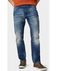 Tom Tailor Trad Relaxed Jeans - Blau