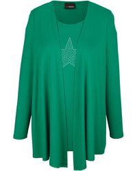MIAMODA 2-in-1-shirt - Groen