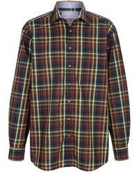 Roger Kent - Overhemd Groen::geel - Lyst