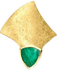 Diemer Farbstein Hanger Met Smaragd - Groen