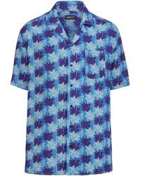 Men Plus Hemd Blau::Marineblau::Weiß