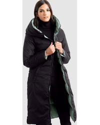 Alba Moda Keerbare Mantel - Zwart