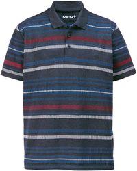 Men Plus Poloshirt - Blauw