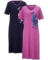 Harmony Nachthemden - Meerkleurig