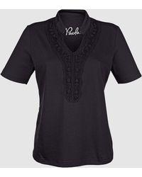 Paola Shirt - Zwart