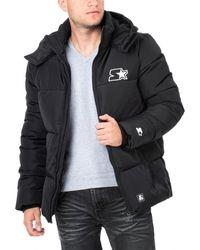 Starter Puffer Jacket - Schwarz