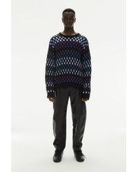 Koche Jacquard Hexagons Knitwear - Multicolor