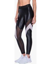 Koral - Frame High Rise Legging - Black/white - Lyst