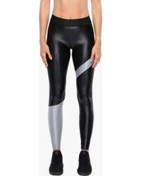 Koral - Appeal High Rise Energy Legging - Black/meteorite Grey - Lyst