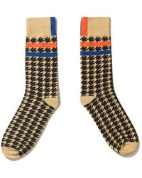 Kule The Women's Houndstooth Sock - Multicolor