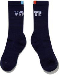 Kule The Women's Vote Sock - Blue