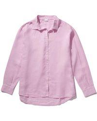 Kule The Linen Oversized Hutton - Pink
