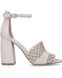 Vince Camuto Gidge 90 Mm Heel Occasion Taupe - Multicolour