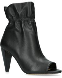 Vince Camuto - Addiena Paperbag Top Leather Booties - Lyst
