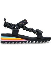 Kurt Geiger - Rainbow Be Kind Sporty Sandals - Lyst