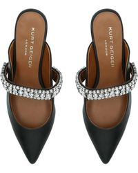 Kurt Geiger Dutchess Embellished Court Shoes - Black
