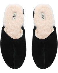 UGG Scuff Sheepskin Slippers - Black