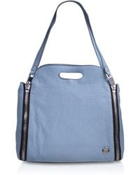 Vince Camuto - Fiel Satchel In Blue - Lyst