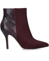 Nine West Flagship Ankle Boot - Red