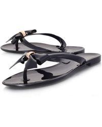 Carvela Kurt Geiger Flip Flops - Black