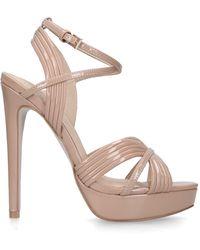 KG by Kurt Geiger Stiletto Heeled Platform Sandals - Multicolour