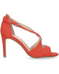 Nine West 'favour' High Heel Sandals - Red