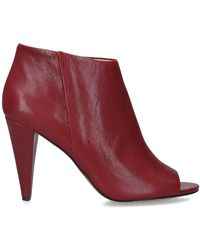 Vince Camuto Azalea Ankle Boot - Red