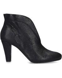 Carvela Kurt Geiger - Croc-embossed Leather Rida Ankle Boots 80 - Lyst
