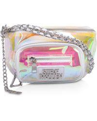 Steve Madden Iridescent Belt Bag - Multicolour