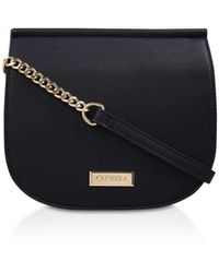 Carvela Kurt Geiger Bee Saddle Cross Body - Black