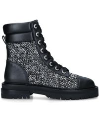 Kurt Geiger Lace Up Ankle Boots - Grey