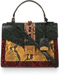 ALDO Glendaa Snake Skin Print Bag - Multicolour