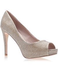 Carvela Kurt Geiger Lara 2 High Heel Sandals - Grey