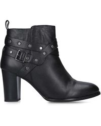 Nine West Block Heeled Ankle Boot - Black