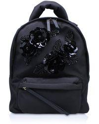 Kurt Geiger - Nylon Backpack In Black - Lyst
