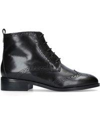 Carvela Kurt Geiger 'toby' Flat Lace Up Boots - Black
