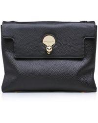 Kurt Geiger - Leather Cle Keyhole Bag In Black - Lyst