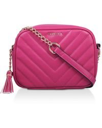 Carvela Kurt Geiger Fuchsia Tassel Cross Body Bag - Pink