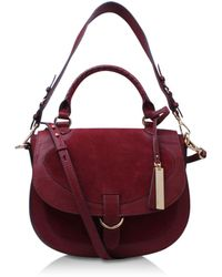 Vince Camuto - Haven Flap In Red - Lyst