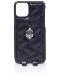 Kurt Geiger Phone Case With Chain - Black