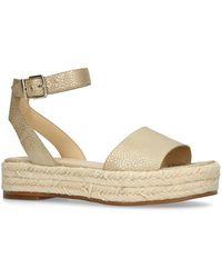 5a6ef343a17 Vince Camuto - Gold  kathalia  Flatform Sandals - Lyst