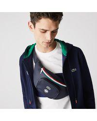 Lacoste Roland Garros Nylon Belt Bag - Blue
