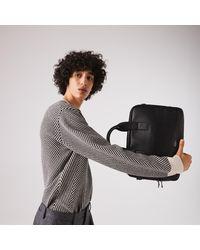 Lacoste Soft Mate Matte Full-grain Leather Computer Bag - One Size - Multicolor