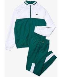 Lacoste Men's Sport Two-tone Tennis Tracksuit - S - 3 - Green