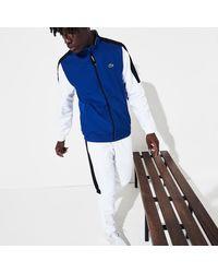 Lacoste Men's Sport Stand-up Neck Colorblock Tracksuit - Blue